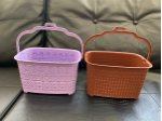 2 Model Peg Baskets