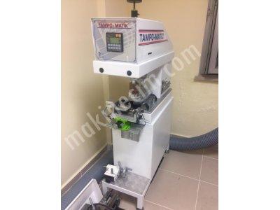 Kapalı  Hazne  Tek Renk  Sıfır  Gibi  Tampon  Baskı  Makinesi