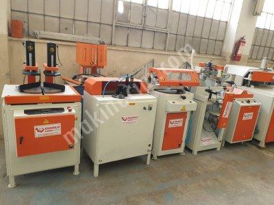 Pvc Makinaları 5 Li Set Anadolu Makinadan Bakımlı
