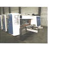 1470*2400 4 Renk İnline Otomatik İstifleyicili Rotary  Baskı Makinesi