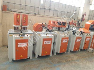 Pvc Makinaları Anadolu Makinadan Yeni Gibi 5 Li Set