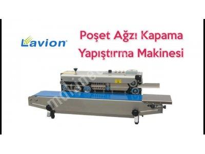 Lavion Frb 770 Konveyörlü Otomatik Yatay Poşet Ağzı Kapatma Makinesi