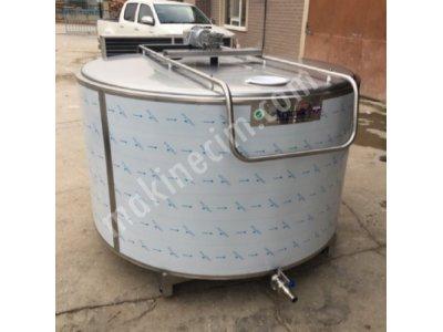 2000Lt Süt Soğutma Tankı