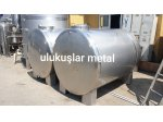 Paslanmaz Krom Çelik Su Deposu Depolama Stok Tankları Ve Özel İmalat Tanker