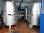 Stainless Olive Oil Tank Chrome Steel Lanca Manufacture Yağ Boiler Tank Warehouse
