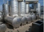Paslanmaz Galvaniz Akaryakıt Mazot Tankı 1 Ton İle 50 Tona Kadar Depolar