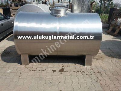 Paslanmaz Krom Çelik Süt Nakil Tankları Süt Taşıma Kazanı Özel İmalat