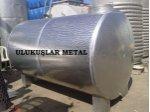 Paslanmaz Çelik Su Deposu 5-10-15-20 Ton Krom Depolama Stok Tankları