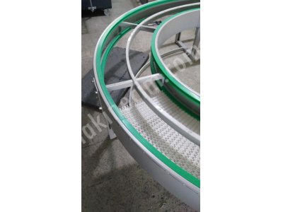 Rotary Conveyor Belt - Plastic Modular Belt