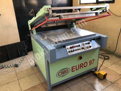 İtalyan  50X70   Cms   Marka  Vakumlu Otomatik Serigrafi Baskı Makinesi