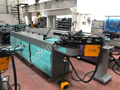 65 Nc Controlled Mandrel Pipe and Profile Bending Machine 4 Piston