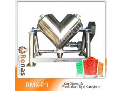 Rmx-P4 Endüstriyel Pantolon Tipi Karıştırıcı 1000 Lt
