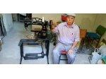 Ayakkabı Tamiri İçin Kısa Kollu Singer Siyah Dikiş Makinası