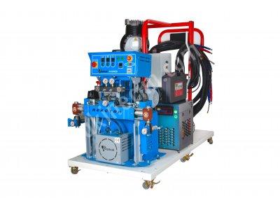 Pusmak Platform Üzeri Poliüre Ve Poliüretan Makinesi Komple Seti