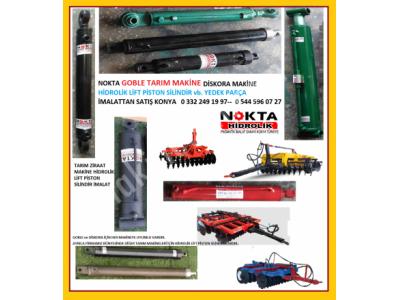 Tarım Makine Hidrolik Lifleri, Ziraat Makine Hidrolik Liftler, Diskaro Goble Makine Hidrolik Piston