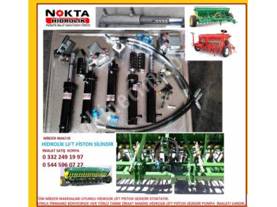 Hidrolik Mibzer Makine Piston İmalat Satış, Mibzer Makine Lift Piston Konya, Konya Mibzer Hidrolik,