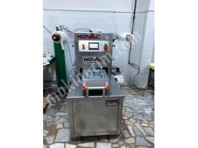 Novac Vakum Makinesi Vakumlu Kase Tabak Kapatma Makinası