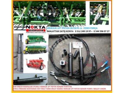 Ayırıcı Valfli Ayarlı Hidrolik Mibzer Set, Pistonlu Vanalı Hidrolik Mibzer Takım, Lifli Mibzer,