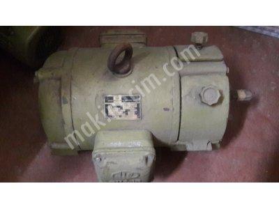 Reostalı Motor..2,2 Kw.-1450 Devir..ufak İşler Ve Deneyler İçin