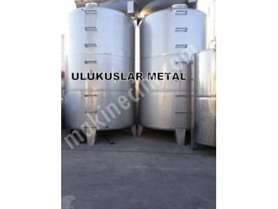 Stainless Steel Tank Chrome Water Milk Yag Storage Boiler