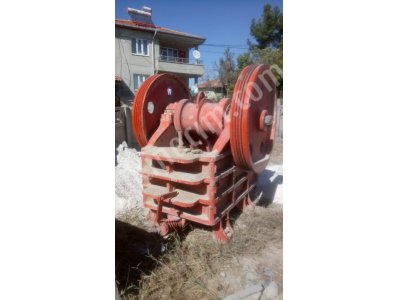 Used Jaw Crusher 600X300 Mm