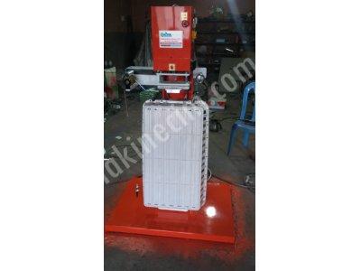 Plastik sıcak baskı makinesi kasa üzerine yaldız baskı makinası akyol Makina sanayi