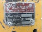 Şenmak Silim Makinası,  Üretim 1999 , Motor Gücü 7,5 Temiz Bakımlı, Bir Adet Tabla İle