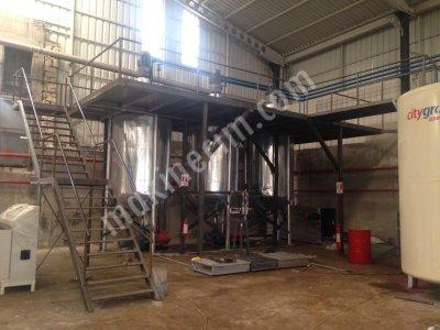 Gress Yağı Üretim Tesisi, Madeni Yağ Üretim Tesisi