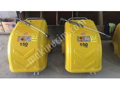 150 Bar 200 Bar Ar Pompalı Soğuk Yıkama Makinası