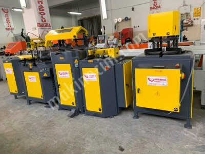Pvc Makinaları İmalattan Anadolu Makinadan 5 Li Set Sarı