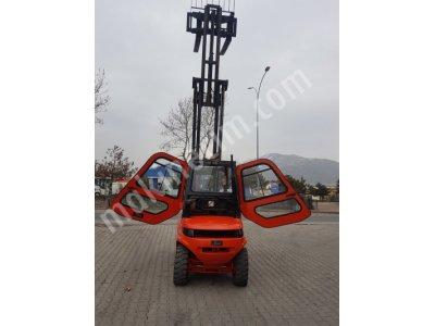 Linde 3.5 Ton 6 Mt Kabinli Forklift