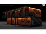 Konteynır Motel Barınma Modelleri Projeleri,konteyner Yaşam Projeleri,
