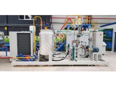 Ekonomik Single Poliüretan İzolasyonlu 1 Cm (10mm) Panel Üretim Hattı Makinesi