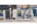 Ekonomik Tekkat Poliüretan İzolasyonlu 1 Cm (10Mm) Panel Üretim Hattı Makinesi