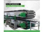 Dmmet Poliüretanlı Sandviç Panel Üretim Hattı Makinesi