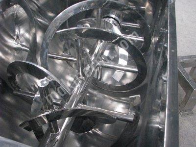 Toz Karma Makinaları İster Helezonik İster Capalı Paslanmaz Ve Demir Olarak Üretim