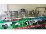 200X5 Toplam 1000 Litre Özel Yapım Süt Soğutma Sistemi
