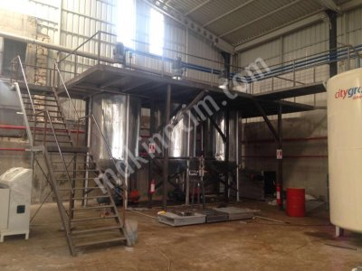 Lube Oil Blending Plant Machine , Lubricant Oil Blending Machine Plant