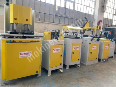 Pvc Makinaları Anadolu Makinadan Bakımlı 5 Li Set