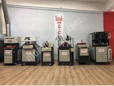 Full Otomatik Tam Takım Pvc Doğrama Makinaları