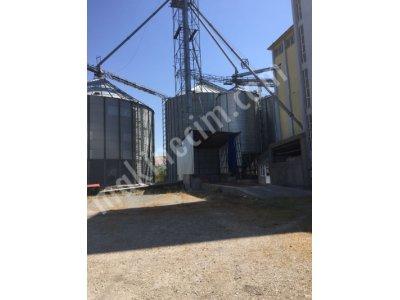 Çelik Silo - Tamamen Yeni - 11.500 Ton Kapasiteli