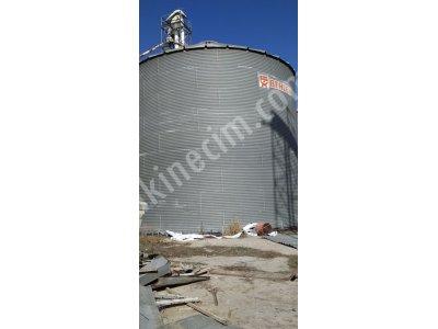 4 Adet 700 Tonluk Çelik Silo-Acil Satılık-Kelepir