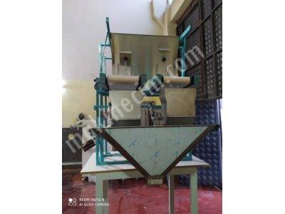 2 Terazili Tam Otomatik Slaj Ve Gübre Paketleme Makinası