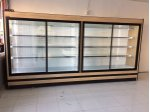 4 Meter Sliding Door Creamer Deli Bottle Market Cabinet