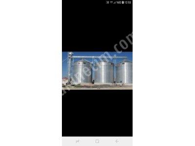 2400 Tonluk 3 Adet Çelik Silo-Özel Fiyat