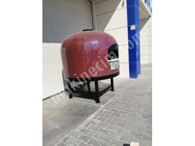 ROTARY GAS  BOTTOM AND INSIDE HEATED ROTARY STONE BASED GAS OVEN