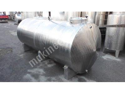 Paslanmaz Süt Taşıma Tanki 4 Ton 2. El