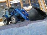 Traktör Ön Yükleyici Açılır Kova