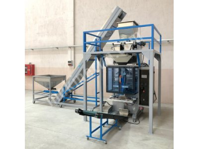 Tam Otomatik 2 Terazili Sistem Dikey Paketleme Makinesi