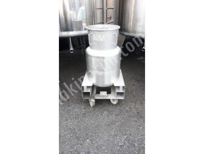 İlaç Tankı 110 Litre Kimya Gıda Depolama Kazanı